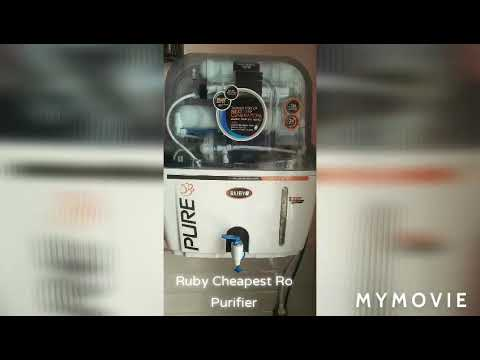 #cheapest ro | cheapest water purifier| ruby brand| cost only 3800₹| budget friendly ro