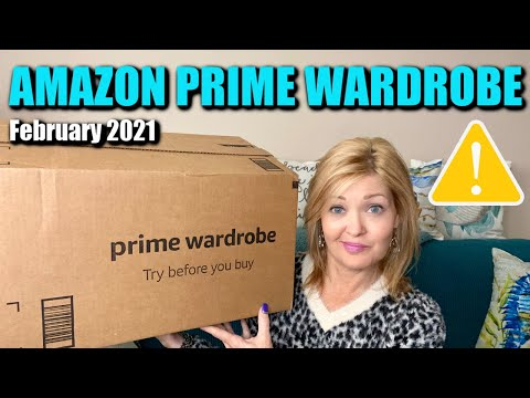Amazon prime wardrobe | february 2021 | this one took a bad turn...you were warned!