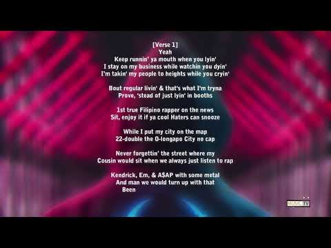 Ez mil - panalo (lyrics)