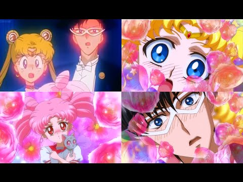 When usagi & mamoru found out chibiusa is their daughter (1994 vs 2015)