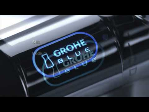 Grohe blue® - purified and sparkling water from your kitchen tap