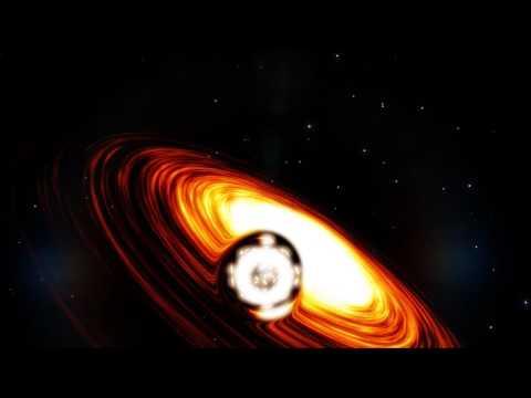 Space engine - falling into black hole sagittarius a