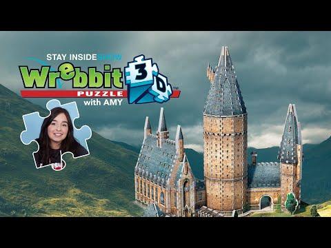 Hogwarts - great hall 3d puzzle showcase | #stayinsideshow