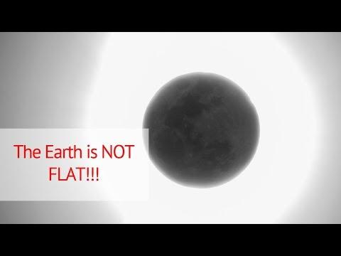 Destroying the flat earth myth