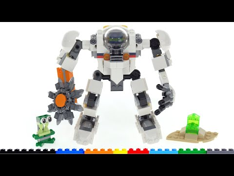 Lego creator 3-in-1 space mining mech 31115 review! all 3 models are good!