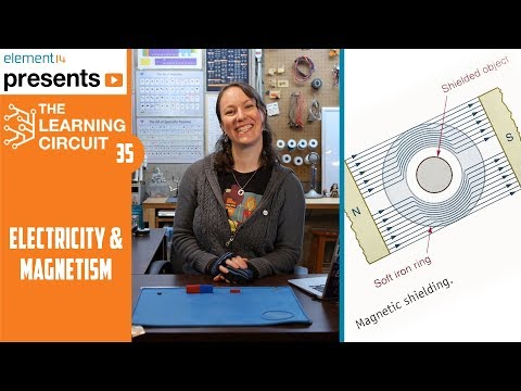 Electricity & magnetism - the learning circuit