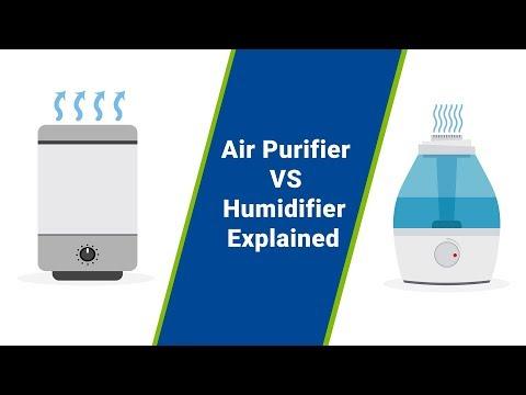Air purifiers vs humidifiers (air purifier benefits vs humidifier benefits)
