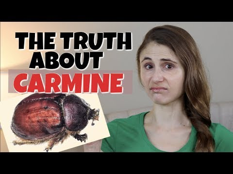 The truth about carmine in skin care and cosmetics| dr dray