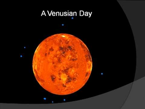 Why venus spins in the wrong direction
