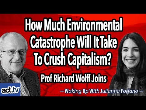 How much environmental catastrophe will it take to crush capitalism? prof richard wolff joins