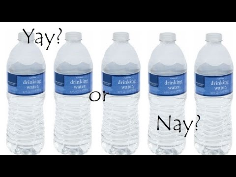 Kroger purified water review