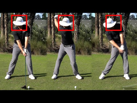How to keep your head down in the golf swing
