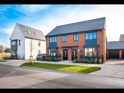 David wilson homes - the archford @ eastfield, lawley village, telford, by showhomesonline