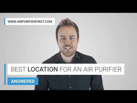 Air purifiers location guide. where should i place my air purifier?