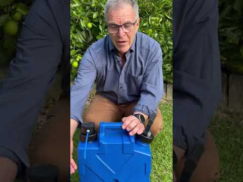 Survival jerrycan backwash - sureaqua - portable water filter
