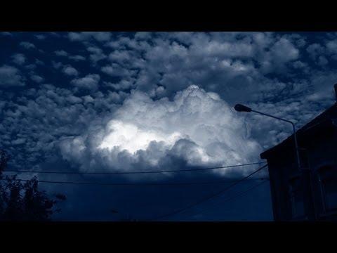 Amazing! ufo hiding in a cloud, liege belgium, july 25 2013
