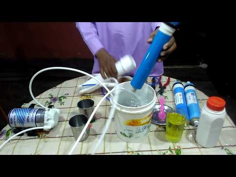 How to clean and renew ro membrane of reverse osmosis water purifier system ?   ro water support  