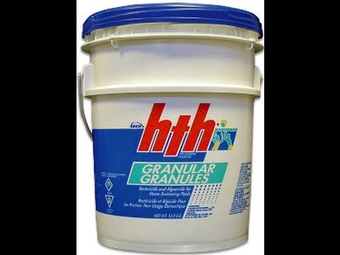 Use calcium hypochlorite pool chlorine-common mistakes