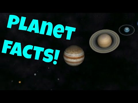 The planets! facts about our solar system for kids