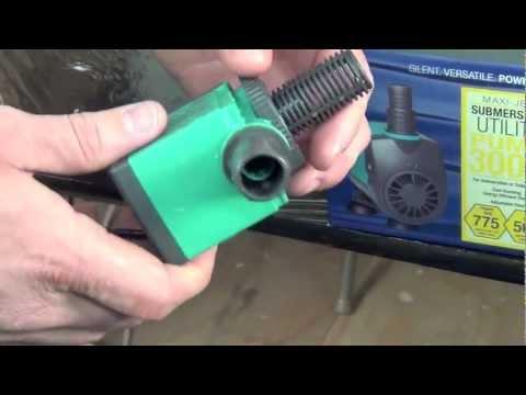 Maxi-jet best pump for hydroponics reservoir stirring drip system pump hand pump watering plants
