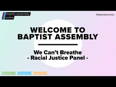Seminar 1: we can't breathe until you can - racial justice group