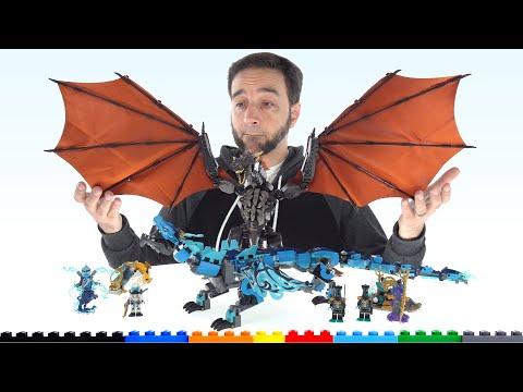 Is lego a good value? dragon face-off vs. mega construx!