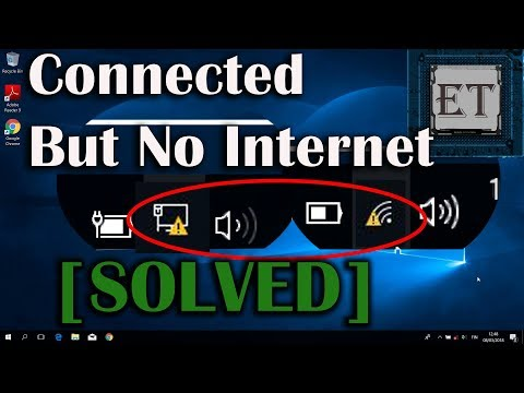 How to fix wifi connected but no internet access (windows 10, 8, 7)