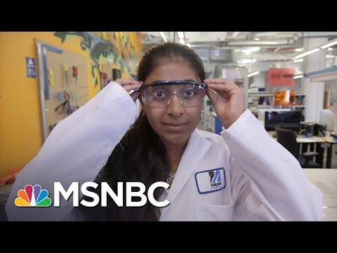 Teen takes on water crisis with solar power | msnbc