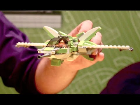 How to build a lego spaceship
