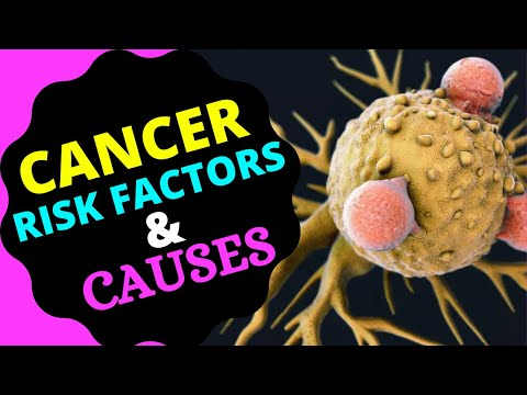Risk factors and causes of cancer | cancer risk factors | causes of cancer 2020