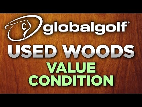 Used golf club condition ratings: woods in 'value' condition
