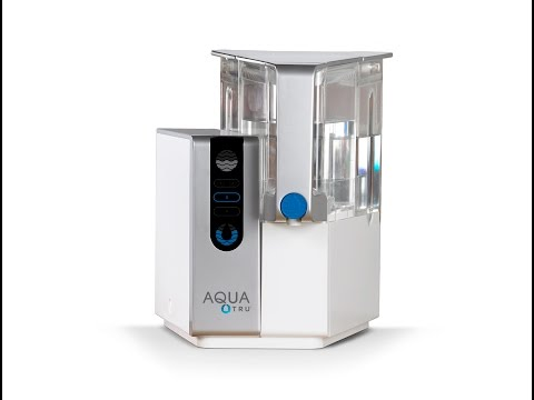 Worlds first countertop reverse osmosis water purifier