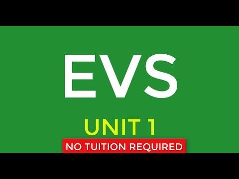 Evs unit 1
