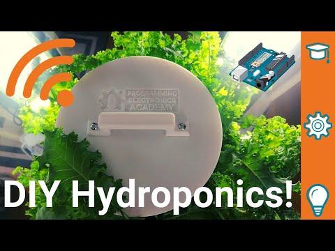 Diy hydroponic garden w/arduino and iot