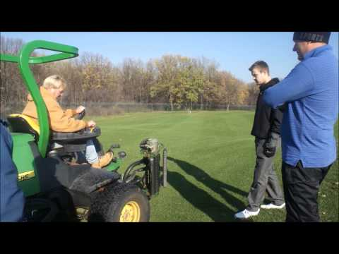 Yevgeny kafelnikov - fairway mowing - 17th hole of the superior golf and spa resort golf course