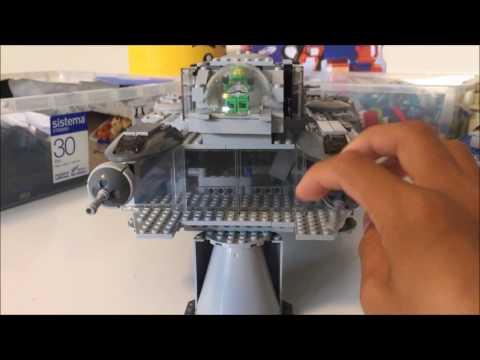 Lego spaceship moc