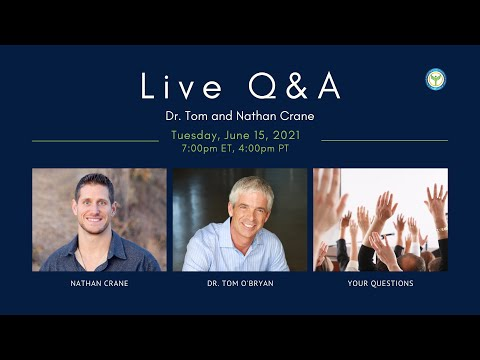Becoming cancer free masterclass with nathan crane and dr. tom o'bryan