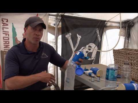 The first need water purifier review/demonstration