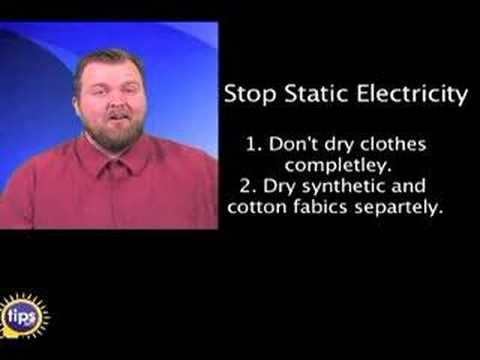 Stop static electricity