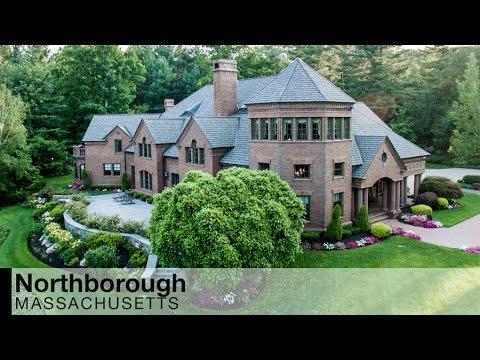 Video of northborough, massachusetts luxury estate
