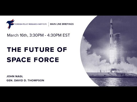 The future of space force