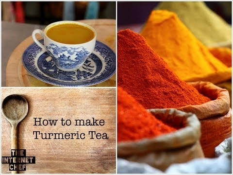 How to make turmeric tea + why it's so beneficial for our health    health hack