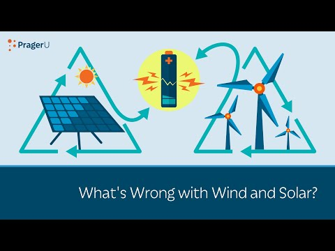 What's wrong with wind and solar?
