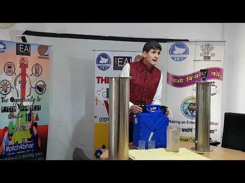 Survival jerrycan demonstration innotech aqua in india -portable water filter - sureaqua