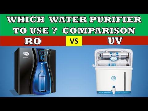 Comparison of ro vs uv water purifiers - which one to use and when ?