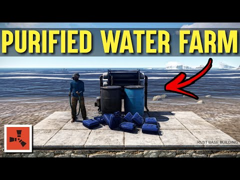 Rust - rust water purifier farm guide (rust farming 2.0) rust base building