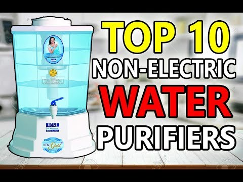 Top 10 best non electric water purifiers in india 2019 | non electric water purifier buying guide