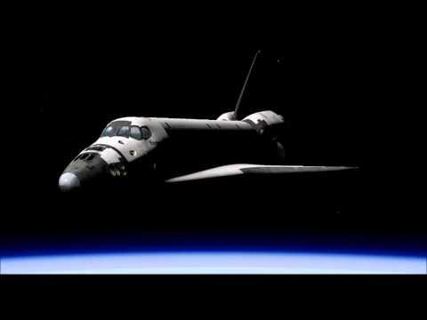 X-plane simulator 10 - orbiter space shuttle
