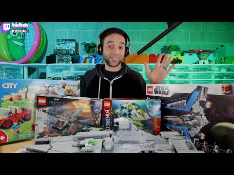 Lego release season! learn of my youtube & twitch channels for reviews, live builds & more!