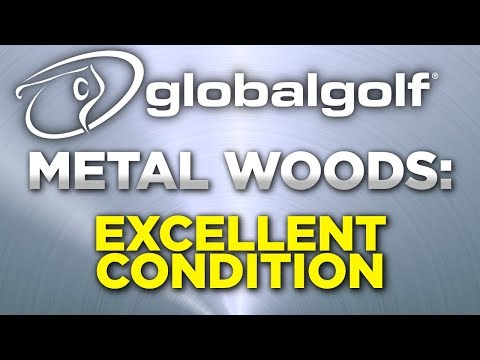 Used golf club condition ratings: metal woods in excellent condition